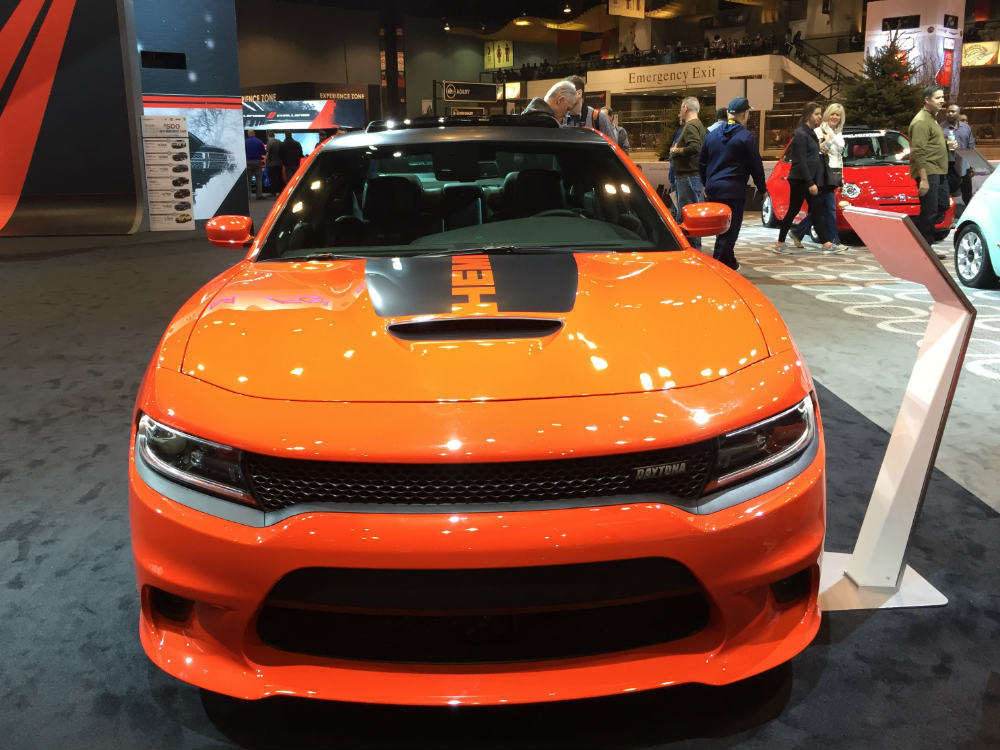 Jeep Dealer Chicago >> 2017 Dodge Charger Daytona at the Chicago Auto Show