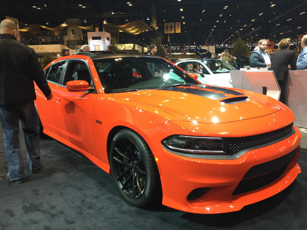 2017 Dodge Charger Daytona At The Chicago Auto Show