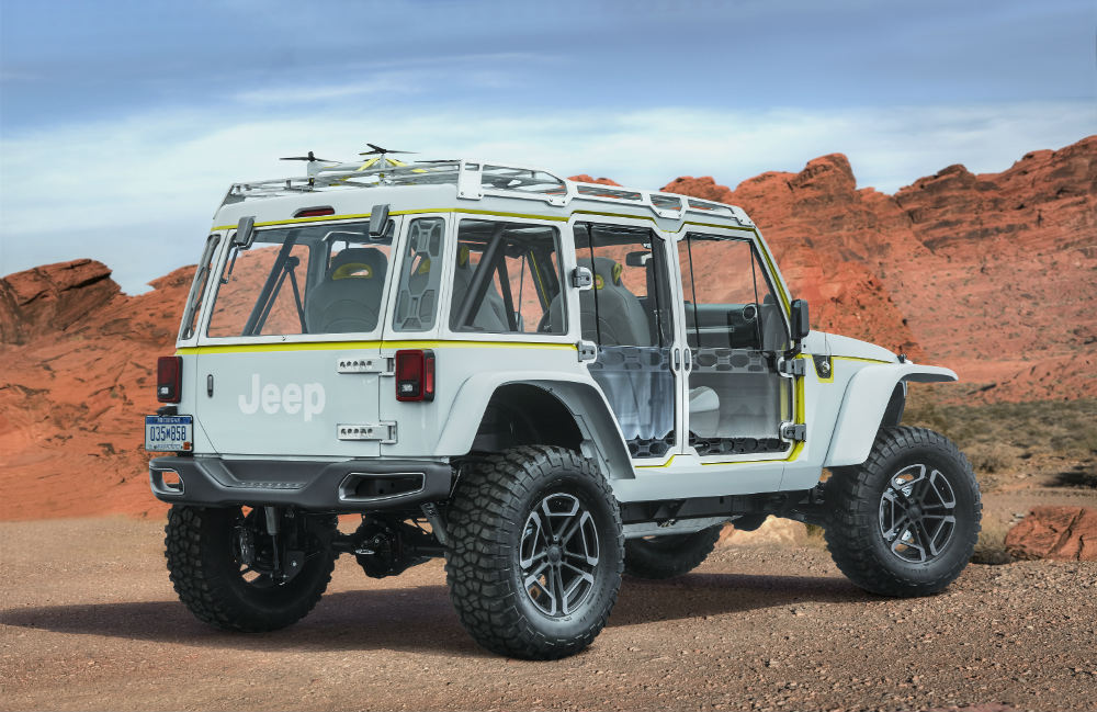2017 Jeep Concept Vehicles >> Check Out The 2017 Jeep Moab Safari Concept Vehicles