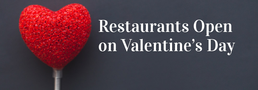 Enjoy a romantic dinner out at one of these top restaurants