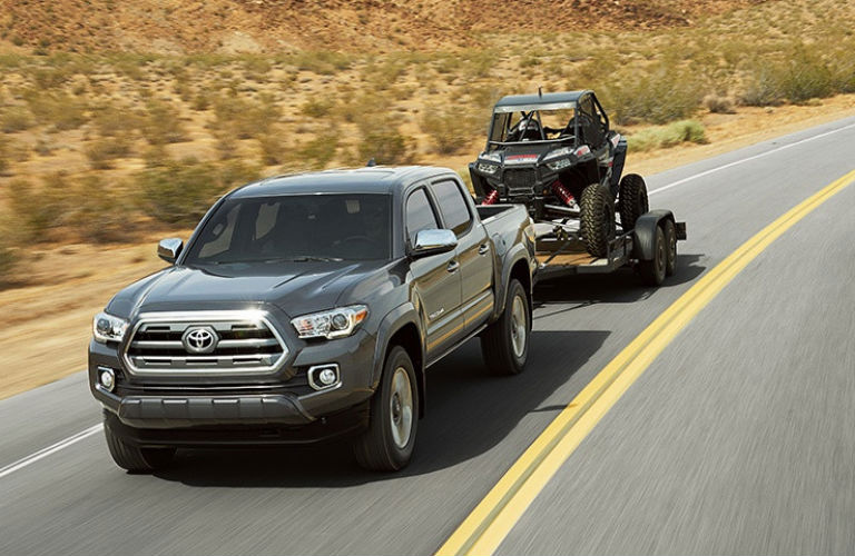 2016 Toyota Tacoma Towing Capacity