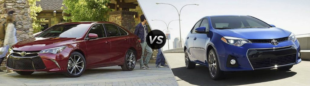 how big is the toyota camry compared to the corolla. Black Bedroom Furniture Sets. Home Design Ideas