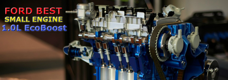 FORD WINS BEST SMALL ENGINE