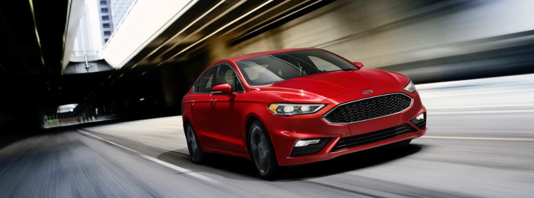 New technology features in the 2017 Ford Fusion