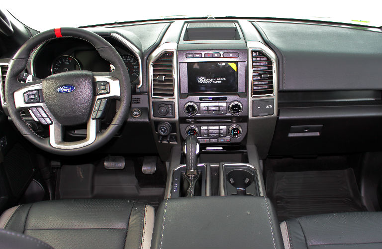2017 ford f 150 raptor interior