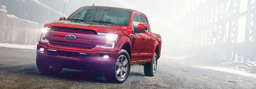 Red 2018 Ford F-150 in Edmonton AB