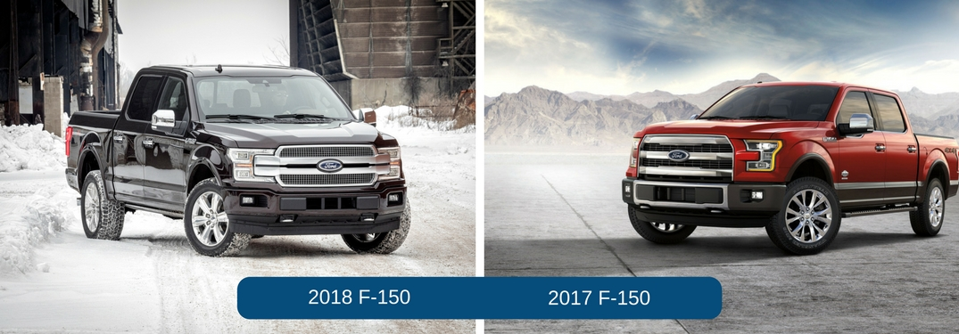 2018 Ford F-150 vs 2017 Ford F-150