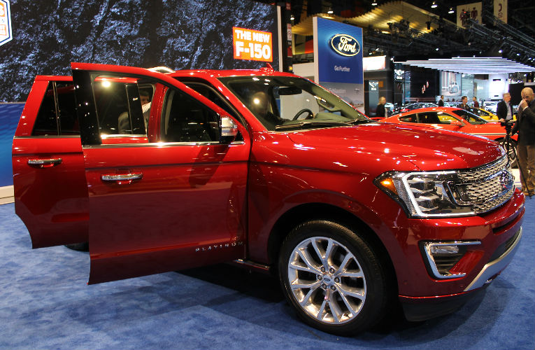 2018 Ford Expedition Chicago Auto Show Debut