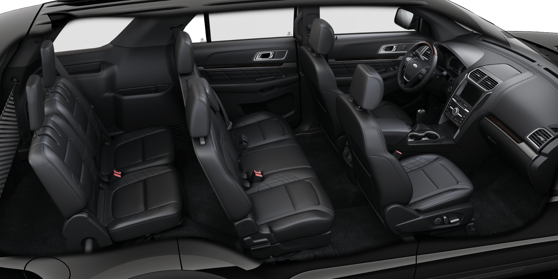 Leather seating options in the Ford Explorer