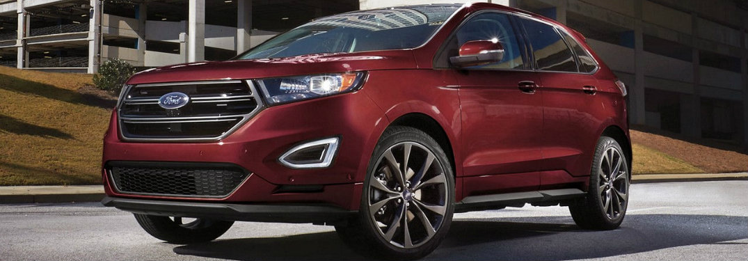 2017 Ford Edge Color Options