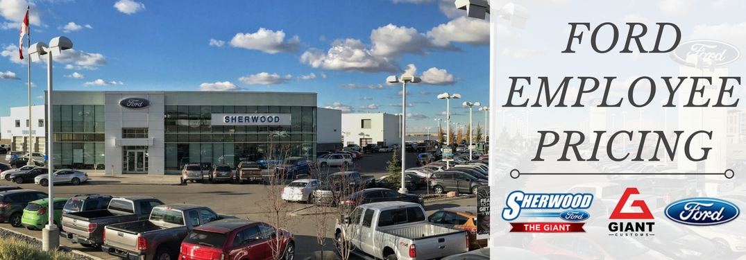 Ford canada employee pricing promotion details