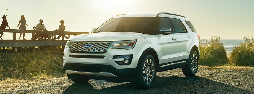 Safety Features on the 2017 Ford Explorer Exterior