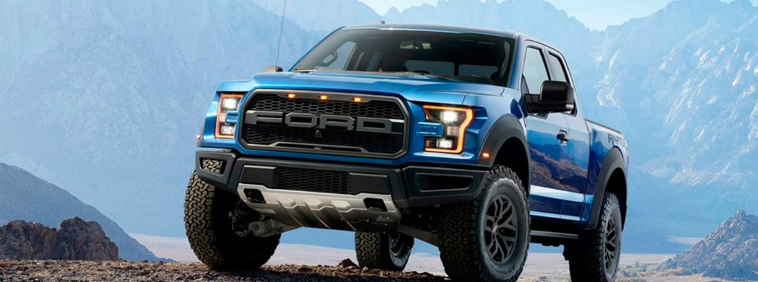 Towing Capability of the 2017 Ford F-150 Raptor Front End