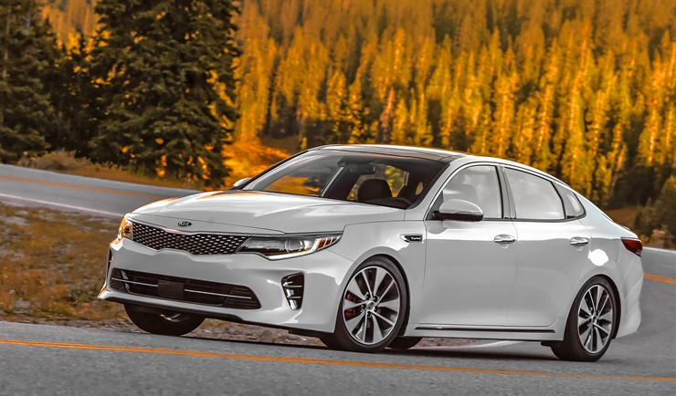 2016 Optima SXL 2.0 turbo