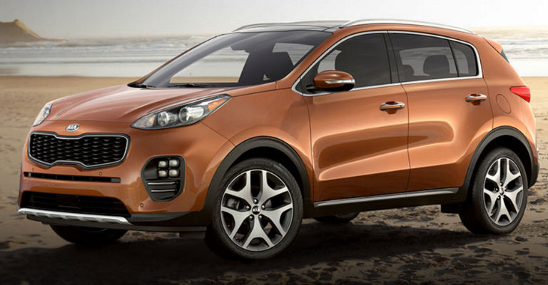 2017 Kia Sportage Available Exterior Colors