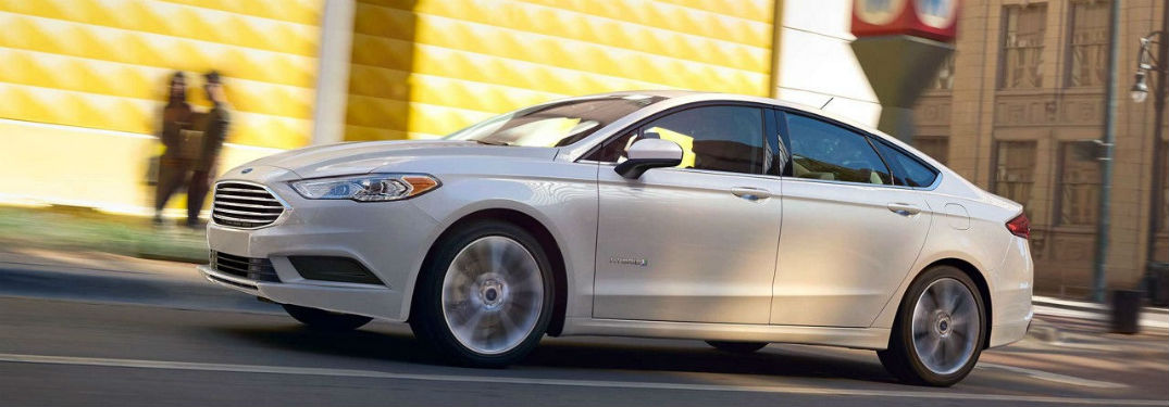 2018 Ford Fusion Efficiency and Performance