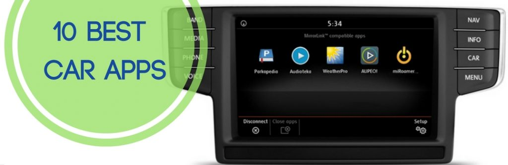 10 best car apps for vw infotainment and smartphones. Black Bedroom Furniture Sets. Home Design Ideas