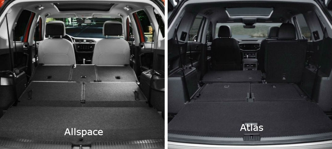Difference Between 2018 Vw Atlas And Tiguan Allspace
