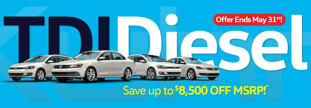 Can I buy a Volkswagen TDI_o