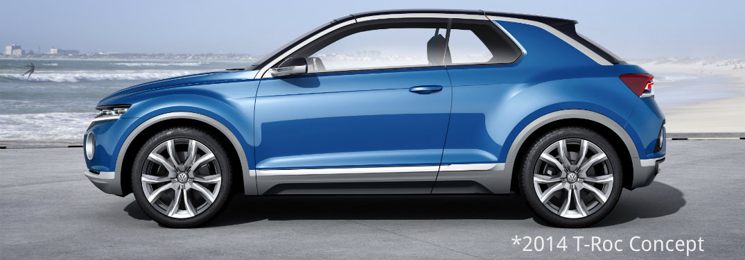 Is the Volkswagen T-Roc coming out in 2018