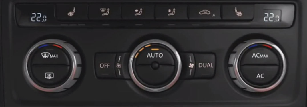 How does automatic climate control work