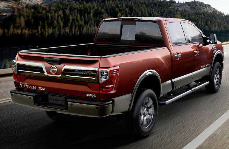 2016 nissan frontier and nissan titan xd towing capacities. Black Bedroom Furniture Sets. Home Design Ideas