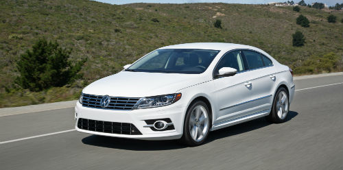 What is new on the 2017 VW CC?
