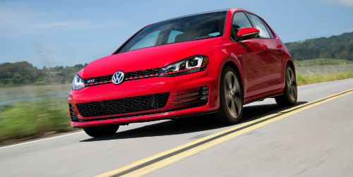 When is the 2017 VW Golf GTI release date?