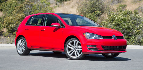 When is the 2017 VW Golf release date?