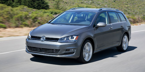 What is new on the 2017 VW Golf Sportwagen