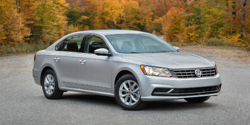 What new features are included on the 2017 VW Passat?