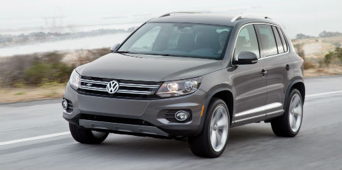 What is the 2017 VW Tiguan Wolfsburg?