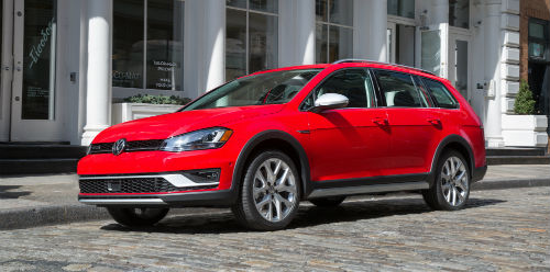 2017 VW Golf Alltrack updates