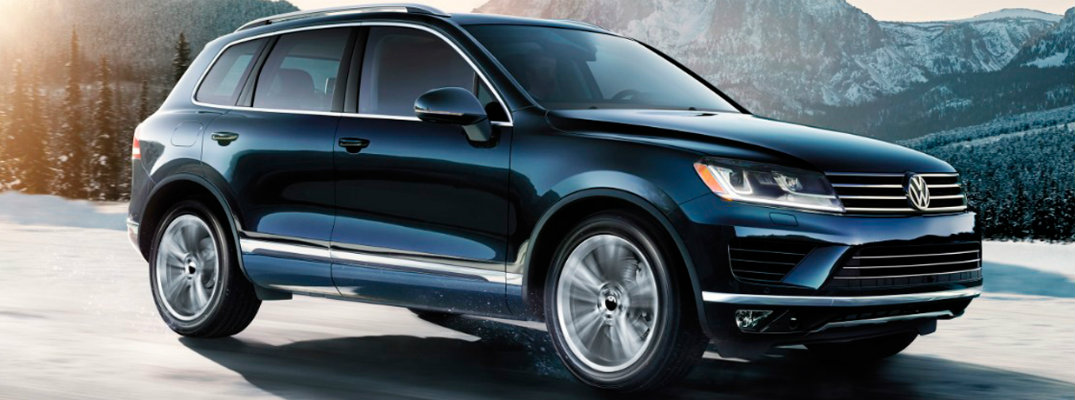 2017 Volkswagen Touareg Fuel Economy and Driving Range