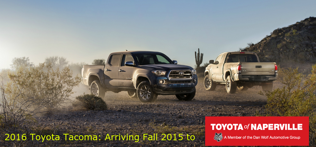 Release date for the 2016 Toyota Tacoma