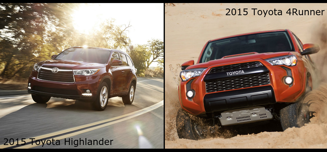 What is the best 2015 Toyota SUV