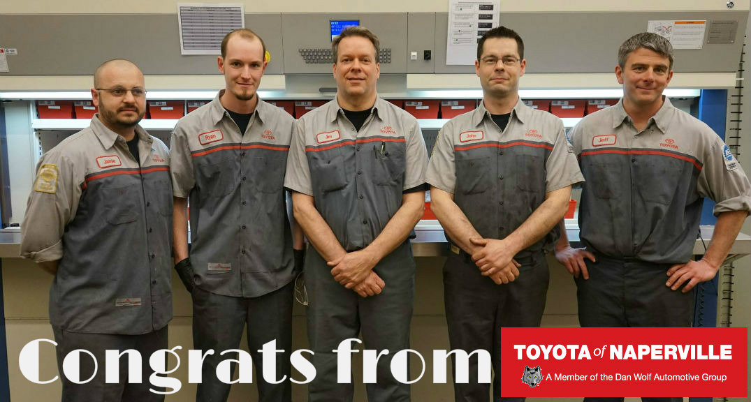 New Toyota Master techs