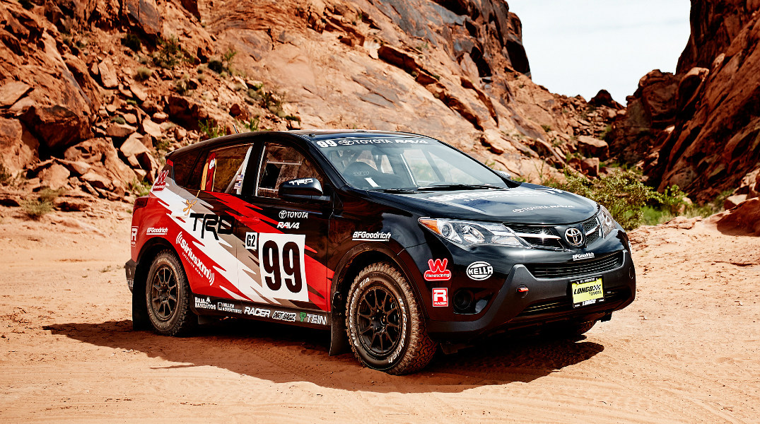 rally version of the 2015 RAV4