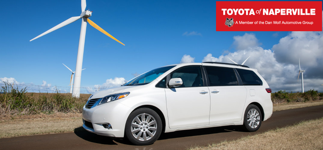 2015 Toyota Sienna technology Award