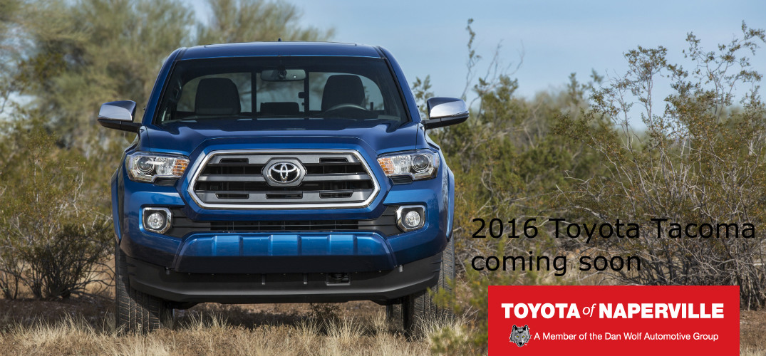 versions of the 2016 Tacoma
