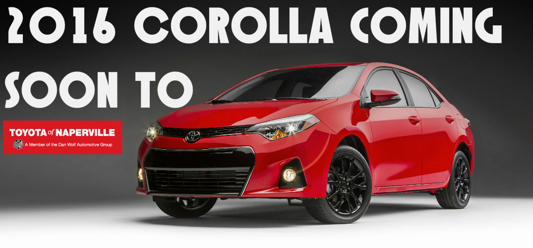 How is the 2016 Corolla different from the 2015 Corolla