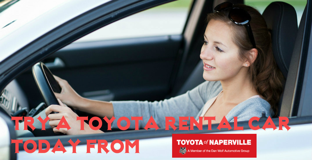 Toyota rental in Naperville, IL