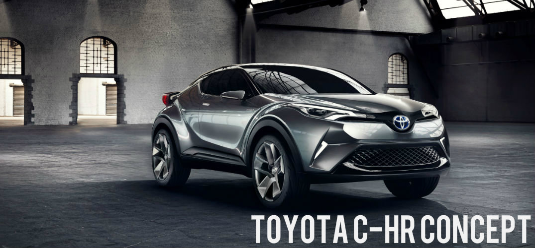 Toyota C-HR Concept Vehicle