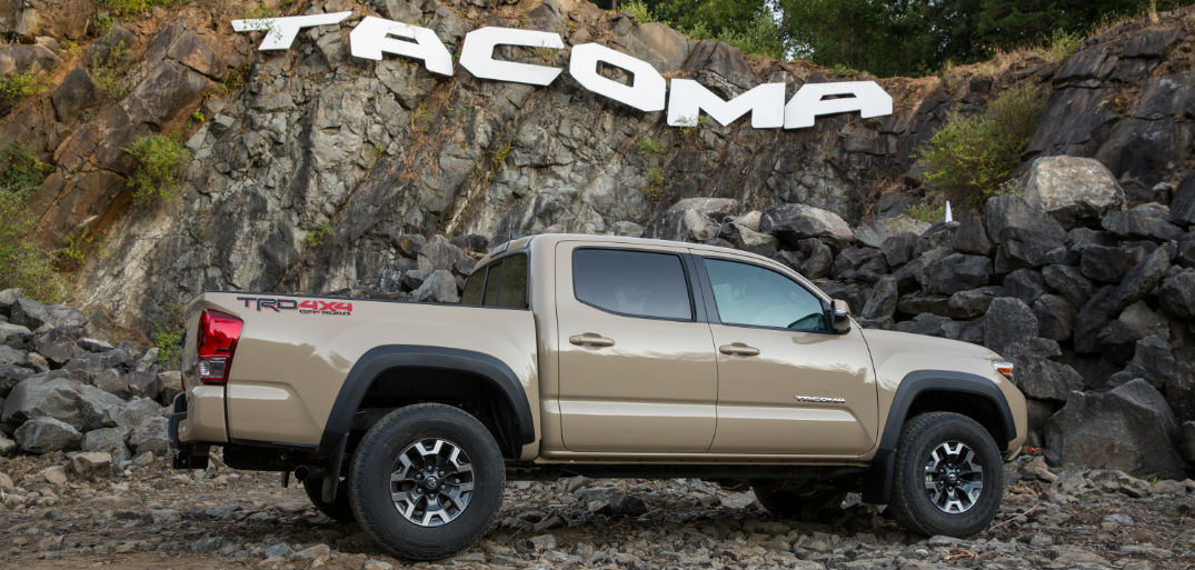 new features for the 2016 Toyota Tacoma in Naperville, IL