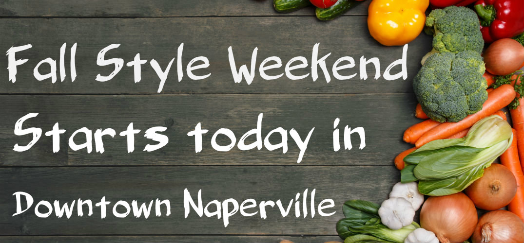 Fall Style Weekend in Naperville, IL