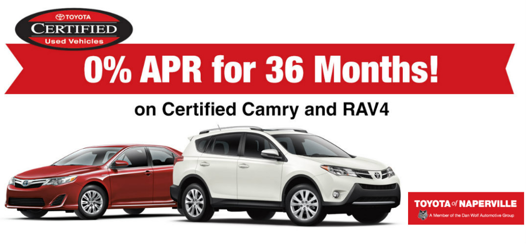 Certified Used Vehicle Sale in Naperville, IL