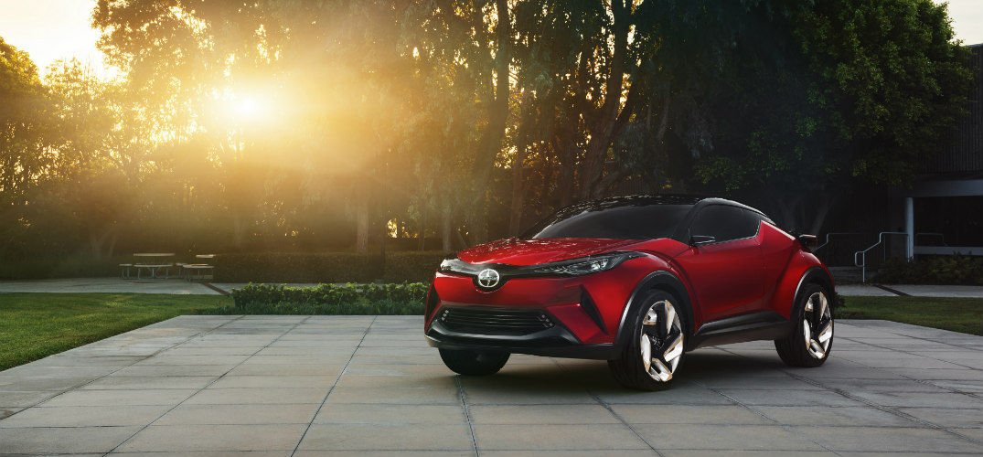 New Scion C-HR Concept Vehicle