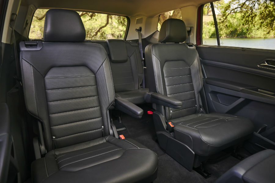 2018 Volkswagen Atlas Trims And Interior Information