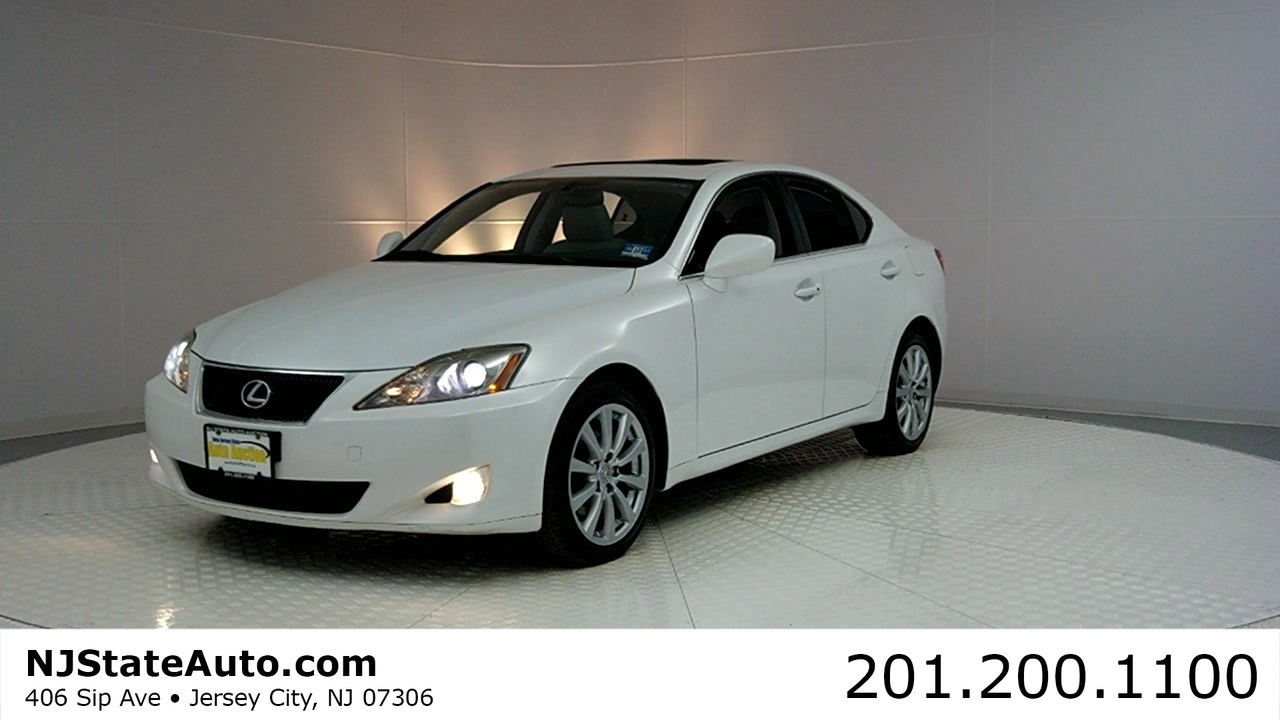 Drive This: 2008 Lexus IS 250 4dr Sport Sedan Automatic AWD in NJ