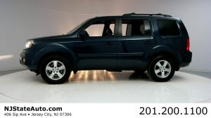 Used Cars in NJ Auto Auction - 2011 Honda Pilot 4WD 4dr EX-L Driver Side